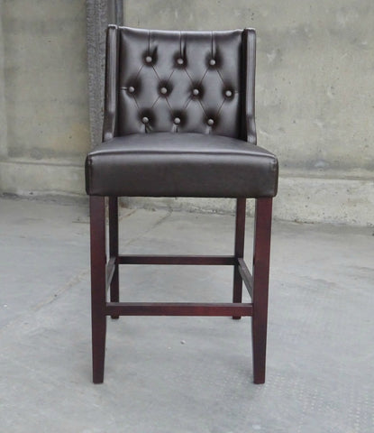Maxine Stool in Leather