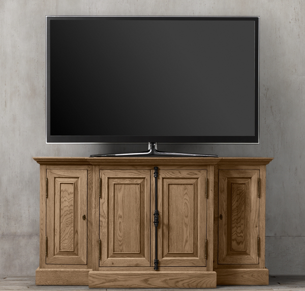 Balmain TV Media Unit - Natural Oak