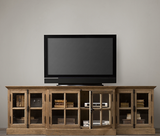 Belcourt TV Media Unit - Natural Oak