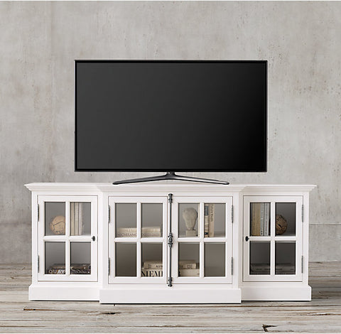 Belcourt TV Media Unit - Polar White