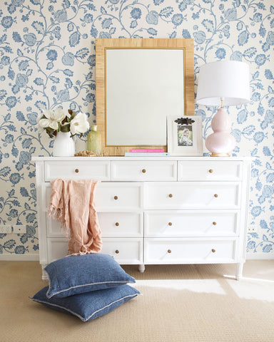Coralie Chest of Drawers in White