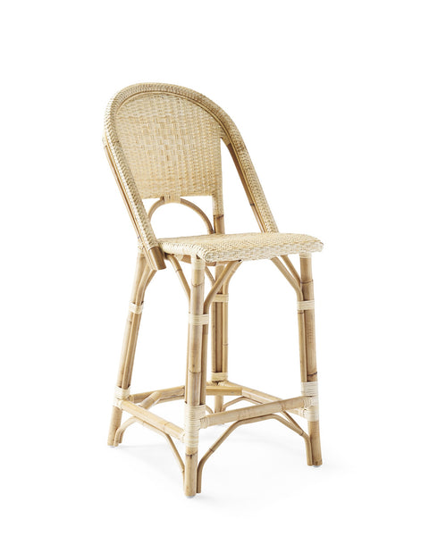 French Bistro Stool - Natural