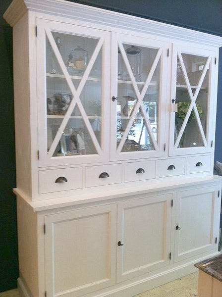 Hamptons Criss Cross Cabinet