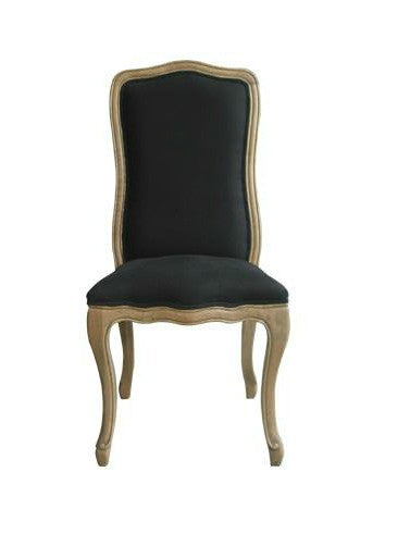 Martine Side Chair- Black