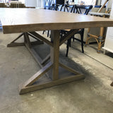 Beach House Dining Table - **Defect**