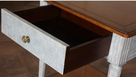 Drawer detail on Claudia Bedside Table