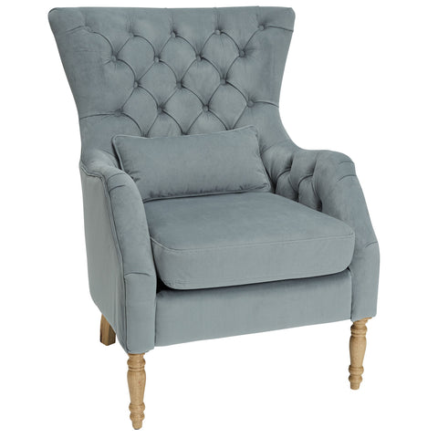 Sabrina Armchair in Dove Grey