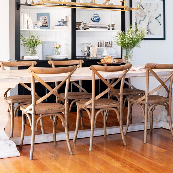 Hamptons Oak Dining Chair