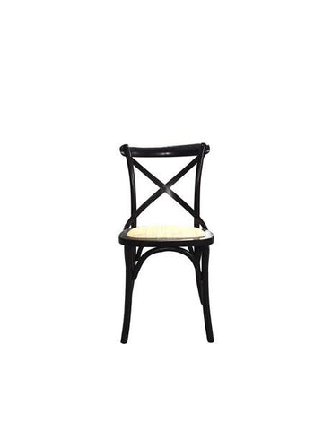 Hamptons Black Dining Chair