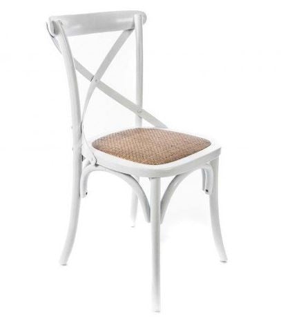 Hamptons White Dining Chair