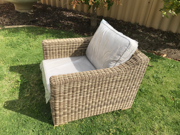 Provence Outdoor Armchair - Teak Brown