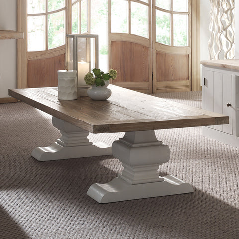 Riviera Coffee Table - rustic coffee table