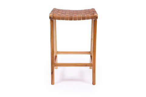 Malibu Stool in Tan