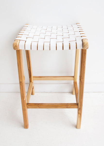 Malibu Stool in White