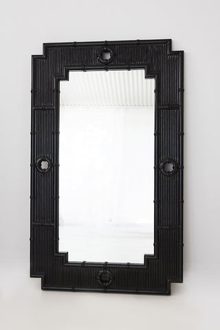 Ming Mirror in Black