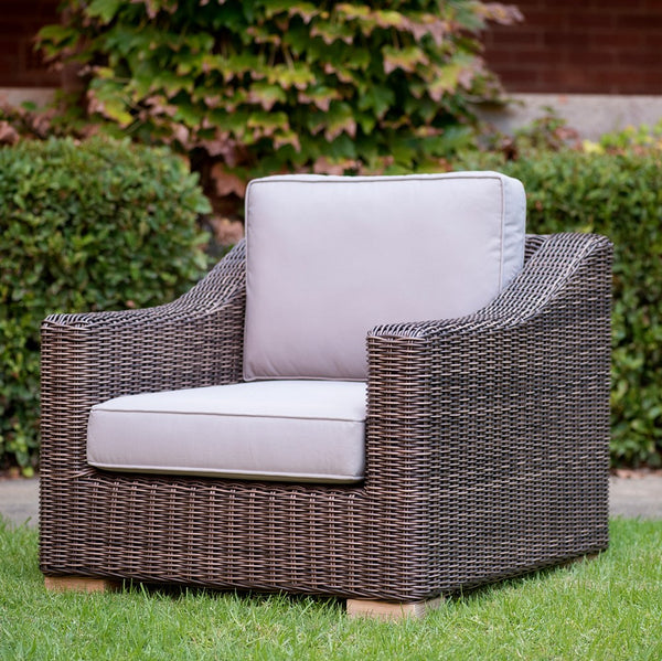 Provence Outdoor Armchair- Weathered Grey