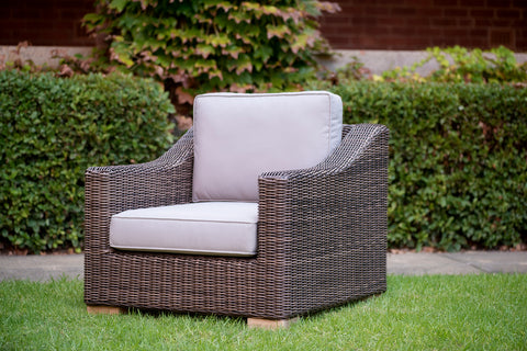 Provence Outdoor Armchair - Natural Brown