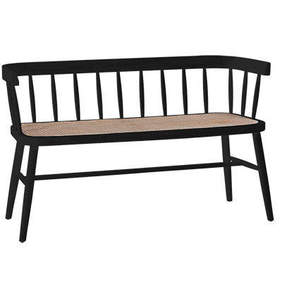 Shelby Bench- Black