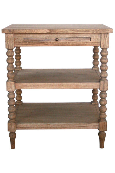 Barley Twist Bedside in Natural