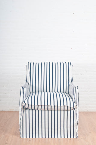 Front profile of Harbour Armchair
