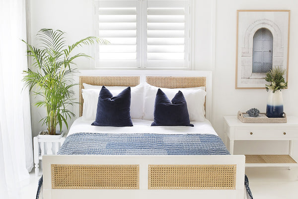 Coralie Bed in White