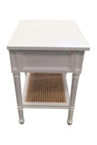Coralie Bedside in White