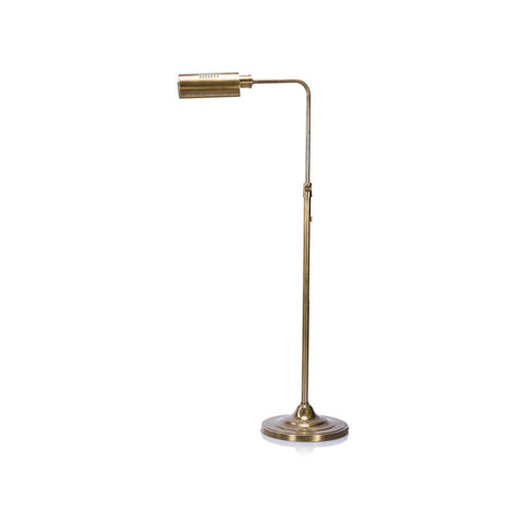 Brooks Floor Lamp in Brass