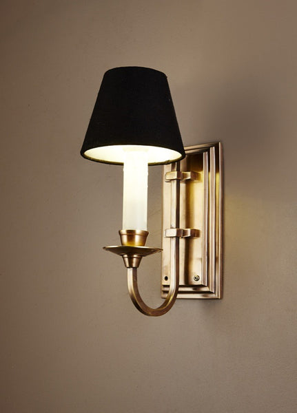 Claire Wall Sconce in Antique Brass