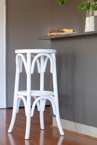 Hamptons Backless Bar Stool