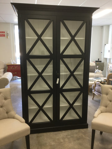 Hamptons style Display Cabinet