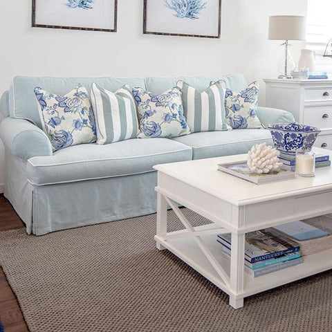 Montauk Coffee Table in White