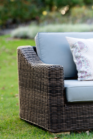 Provence Outdoor Sofa - Natural Brown