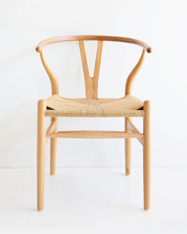 Wishbone Chair - Natural Oak