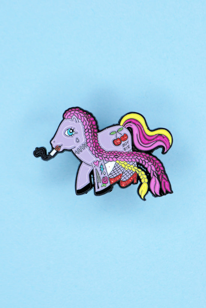 Ur Slutty Pony Pin
