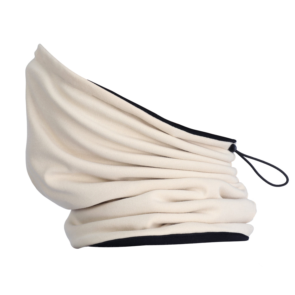 Organic Cotton Plush Snood Stone