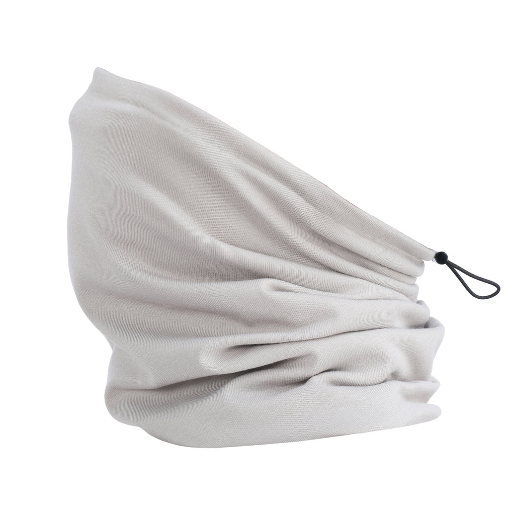 Organic Cotton Plush Snood Grey