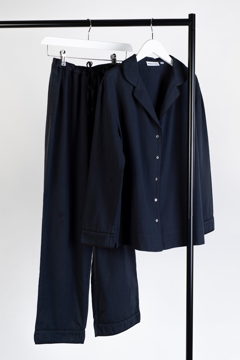 Organic Cotton Pyjama Navy