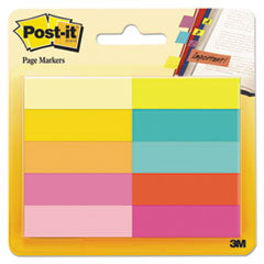 Page Flag Markers, 10 Pads per Pack