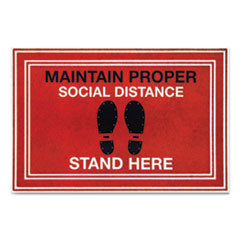 Message Floor Mats,