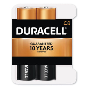 Duracell CopperTop Alkaline C Batteries (8 Pack)