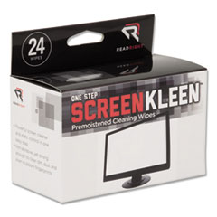 Screen cleaning wipes, 24/box