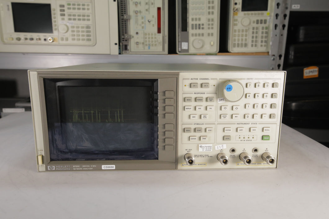 HP - 8753C Network Analyzer