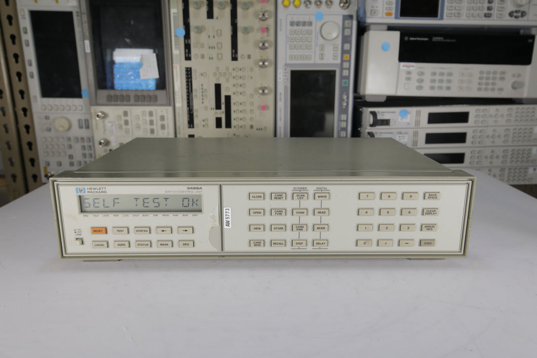 HP - 3488A Switch Control Unit