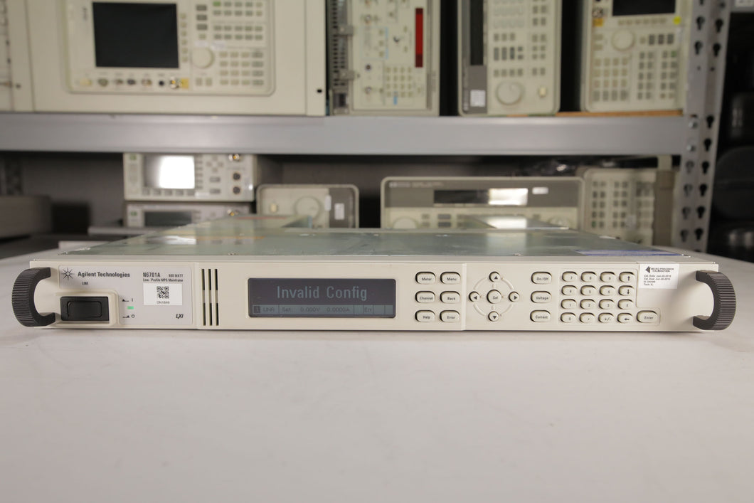 Agilent - N6701A Low Profile MPS Mainframe