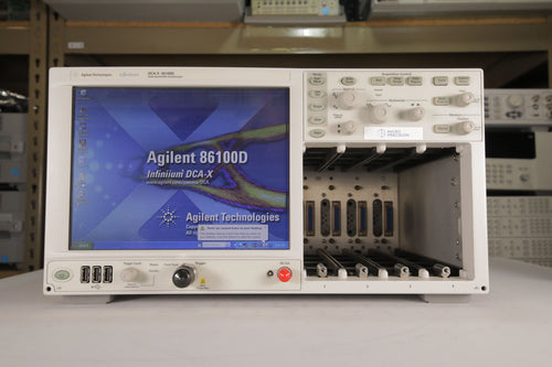 Agilent - DCA-X 86100D Digital Communication Analyzer