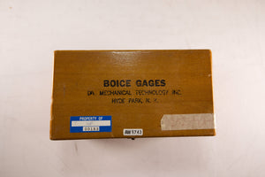 "Boice Gages - 23 - 1"" - 1 3/4"" Set Master"