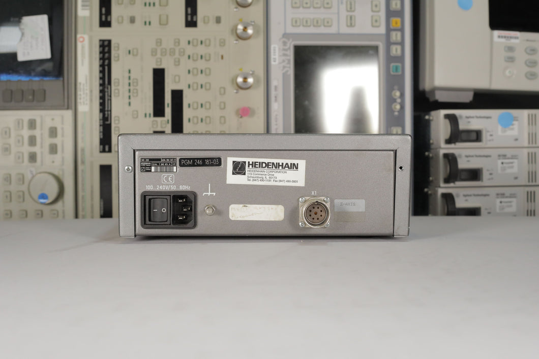 Heidenhain - ND220/PGM-246 181-03 Linear Encoder Calibrator