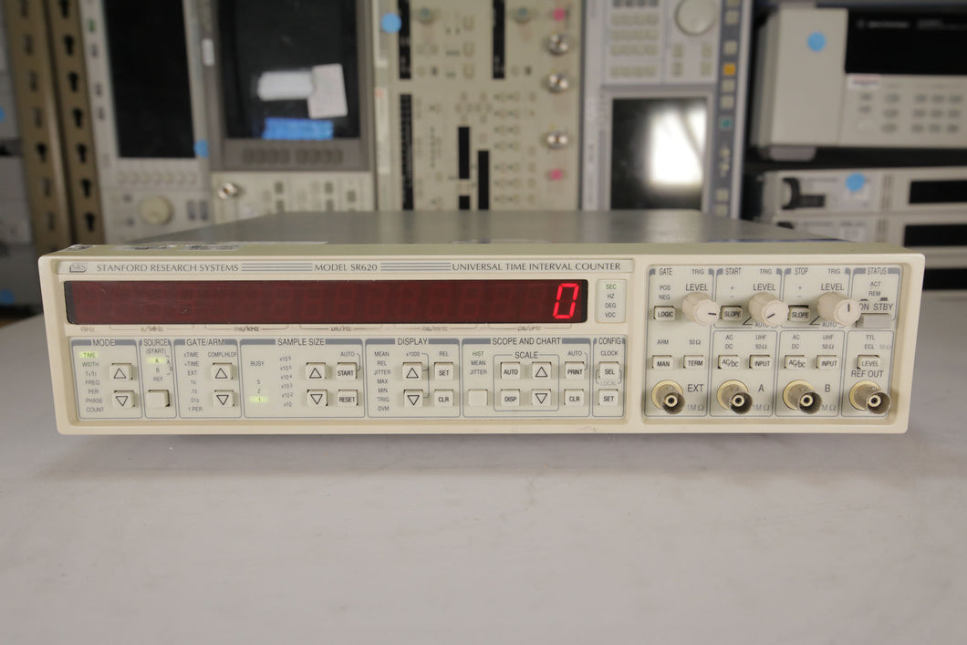 Stanford Research - SR620 Universal Time Interval Counter