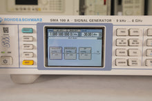 Load image into Gallery viewer, Rohde & Schwartz - SMA 100 A Signal Generator