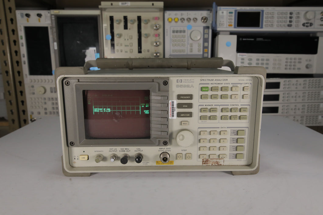 HP - 8592A Spectrum Analyzer